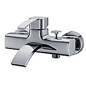Bridgepoint Cospicua Bath Shower Mixer in Chrome