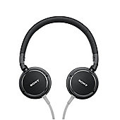 Sony MDRZX600B Overhead Headphones with Aluminium