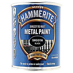 HAMMERITE SMOOTH BLACK 250ML