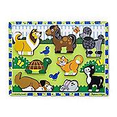 Pets Chunky Puzzle - Melissa & Doug
