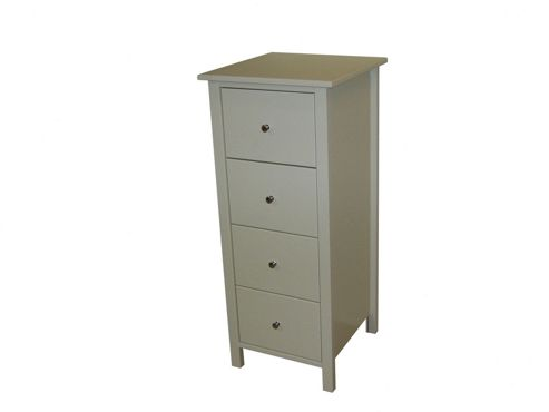 Oestergaard Silk 4 Drawer Chest - White