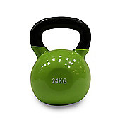 Body Power 24kg Vinyl Coated Kettle Bell (x1)