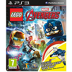 Lego Marvels Avengers Quinjet Minifig PS3