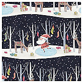 Tesco Santa & Co Christmas Wrapping Paper, 10m