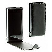 Lumia 800 luxury alpha leather flip case