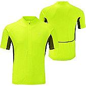 Ronhill Cycle Shirt - Black & Yellow