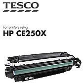Tesco - HP Color Laserjet Ce250X Cart - Black