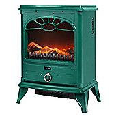 WL46014G Warmlite 2000W Stove Fire