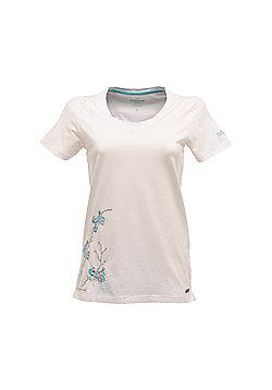 Regatta Ladies Summer Wind T-Shirt - White