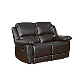 Sofa Collection Lucerne Recliner Sofa - 2 Seat - Black