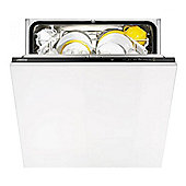 Zanussi ZDT13010FA Fullsize Integrated Dishwasher A Energy Rating in White
