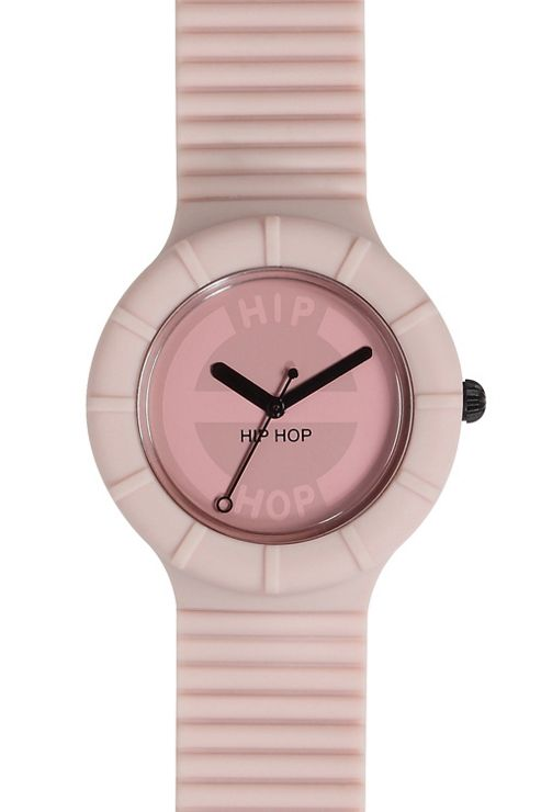 Hip Hop Unisex Full Colour Powder Puff Strap Watch HWU0056