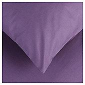 Tesco  Egyptian Cotton Hw Pillowcase Dark Heather