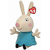 TY Peppa Pig & Friends Beanie Buddy Soft Toy - Rebecca Rabbit