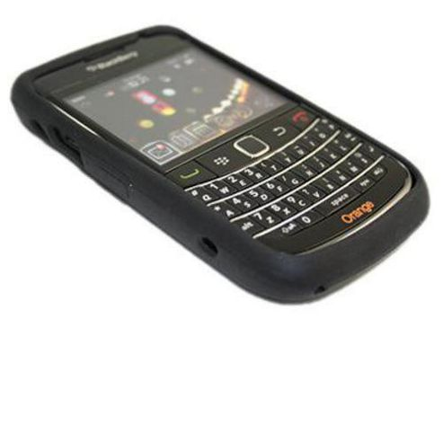 iTALKonline Silicone Case Black - For Blackberry 9700 Bold, 9780 Onyx