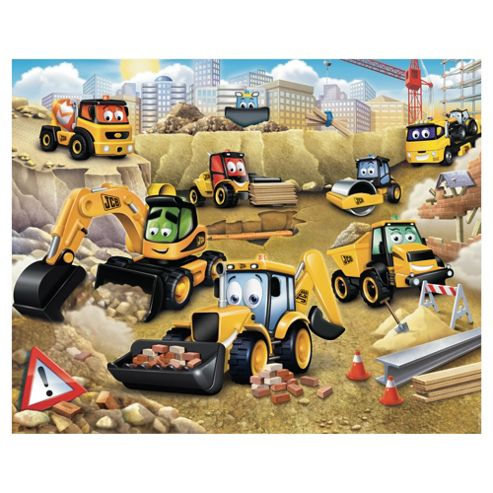 My 1st JCB Wallpaper Mural 8ft x 10ft
