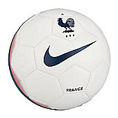 Nike FFF France Supporters Football - White