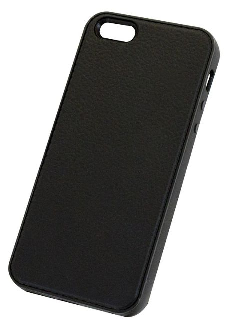 Tortoise™ Soft Gel Case iPhone 5 Grainy Black