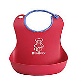BabyBjorn Soft Bib (Bright Red)