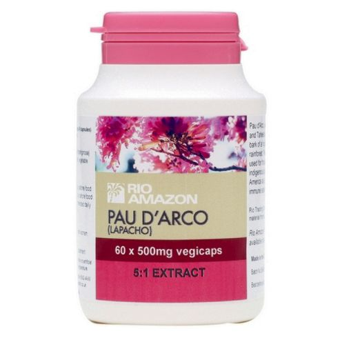 Pau dArco 500mg 5:1 Extract, 60