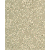 Graham & Brown Montague Wallpaper - Olive