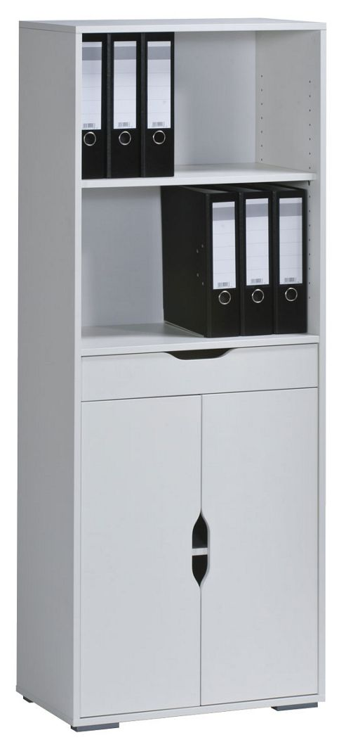 Maja Stockholm White Medium Bookcase