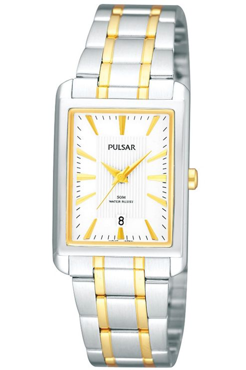 Pulsar Ladies 2 Tone Bracelet Watch PH7139X1