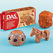 DAS Terracotta Air Hardening Clay (500g pack )