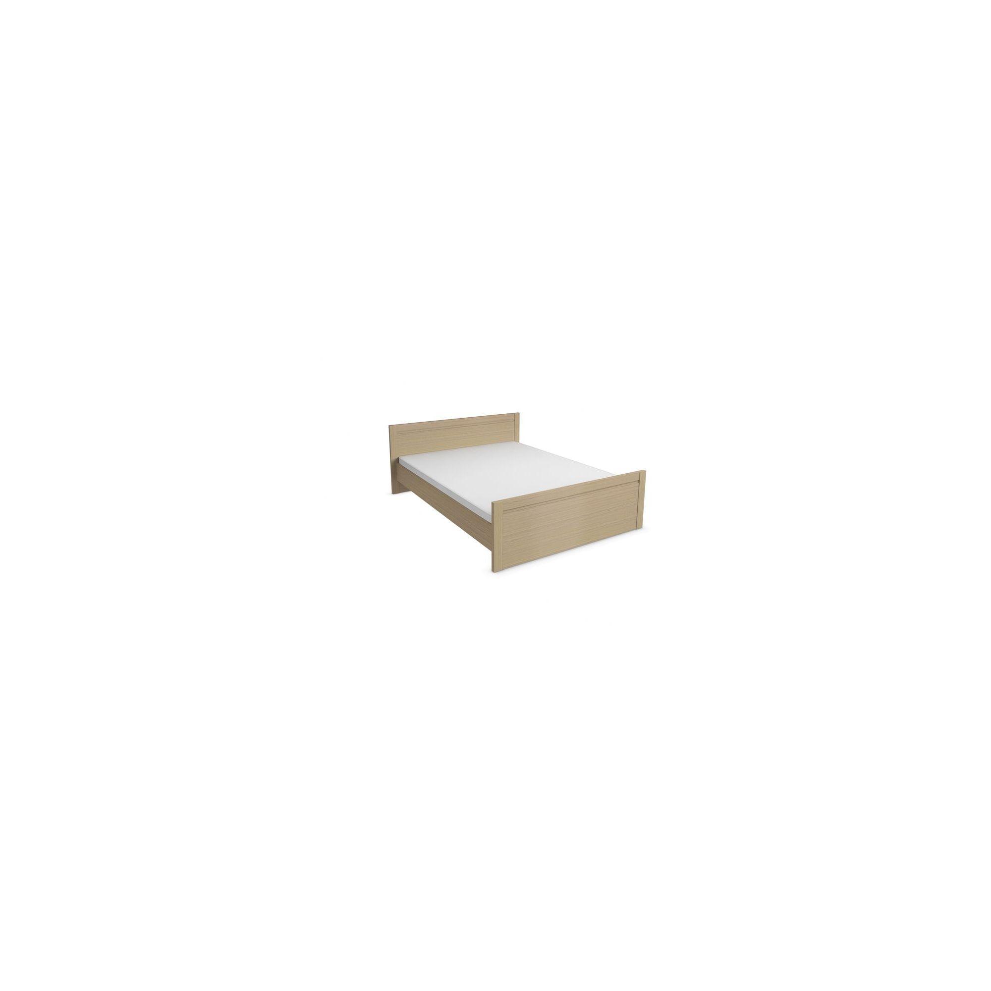 Urbane Designs Tango Bed Frame - Light Oak - King at Tesco Direct