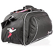 Precision Travel Bag - Black/Red/Silver