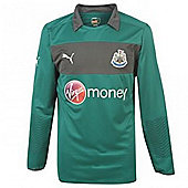 2012-13 Newcastle Puma Goalkeeper Shirt (Green) - Green