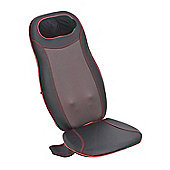 HOMCOM Massage Heated/Vibrating Car Seat-Black