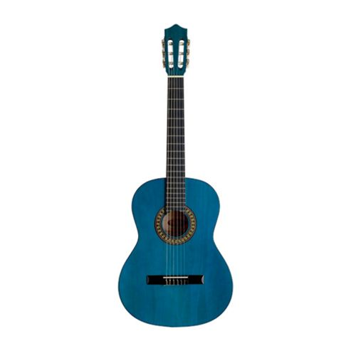 Rocket C542 Full Size Classical Spanish Guitar - Blue