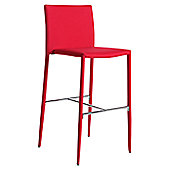 Wilkinson Furniture Kali Bar Stool - Red