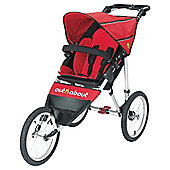 Out n About Nipper 3 Wheel Sport Pushchair, Carnival Red
