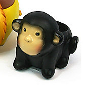 Black Ginger Novelty Egg Cup, Monkey