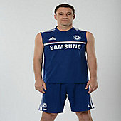 2013-14 Chelsea Adidas Sleeveless Shirt (Blue) - Blue