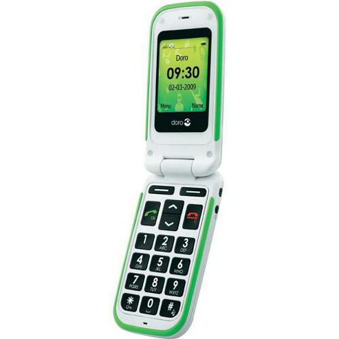 DORO 410GSM Doro Big Button Phone White