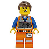 LEGO Movie Emmet clock