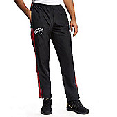adidas Mens Munster 2015/16 Woven Pants - All Sizes Available - Black & Red