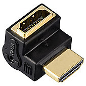 Hama High Speed HDMI  Angle Adapter  plug socket  90D