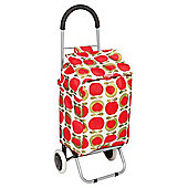 Typhoon Foldable Shopping Trolley, Apple Heart
