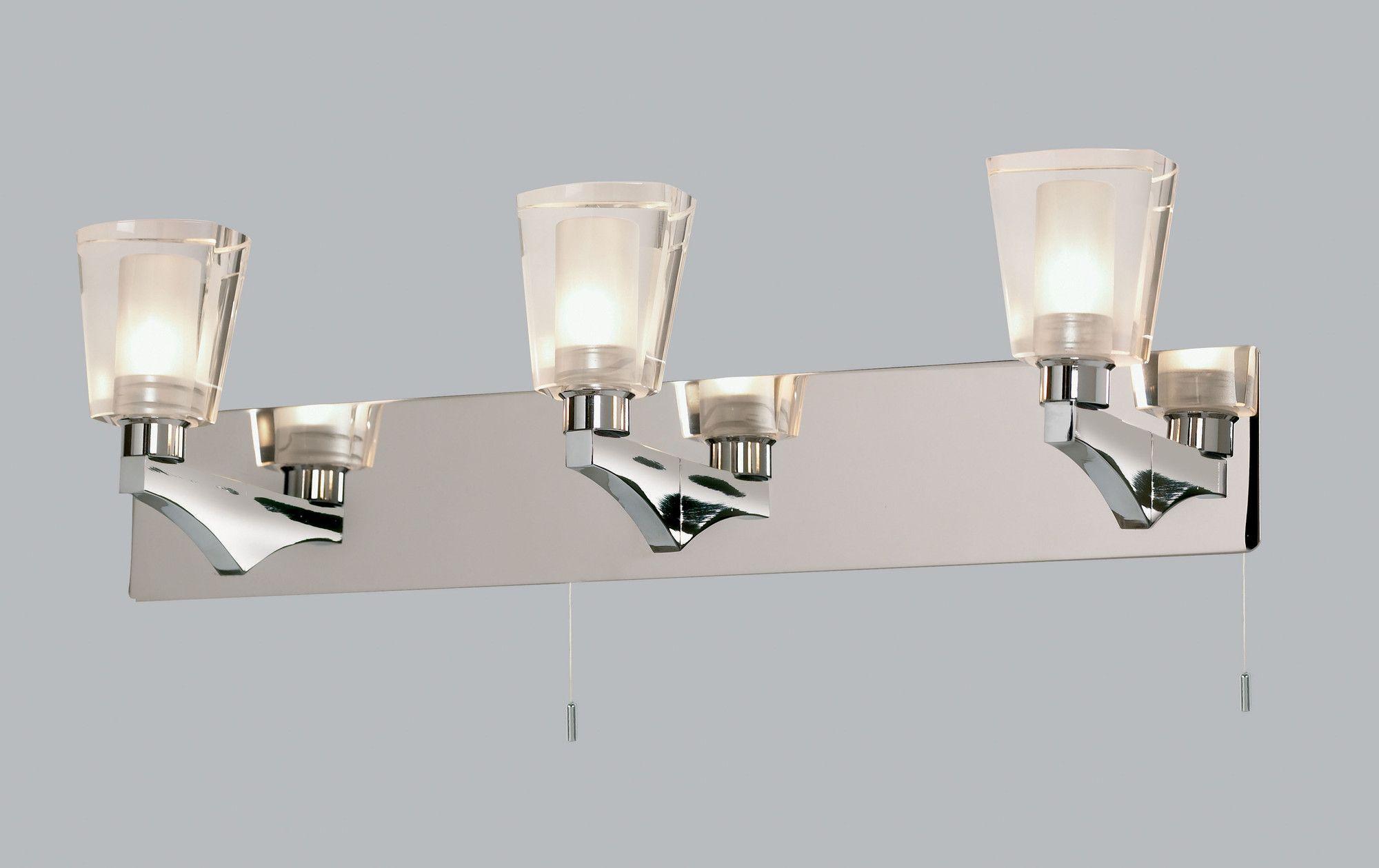 Popular  Flush Mount In Brushed Steel From Our Bathroom Lighting Range  Tesco