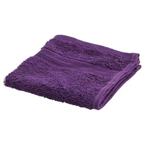 Tesco Face Cloth Purple