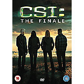 CSI: The Finale DVD