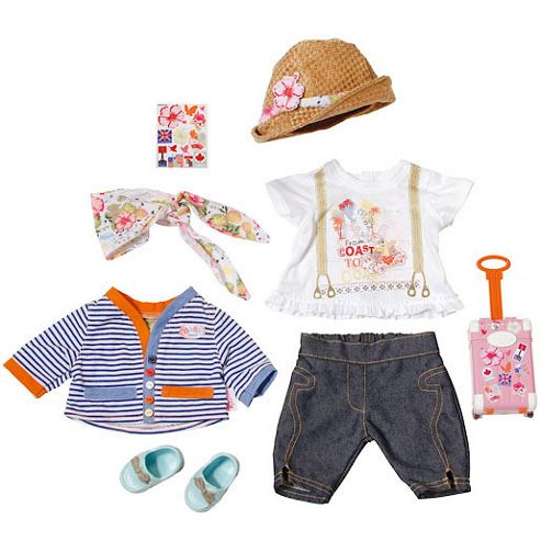Baby Born City Travel Outfit