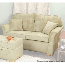 Sweet Dreams Eaton Two Seater Sofa - Dali Cream