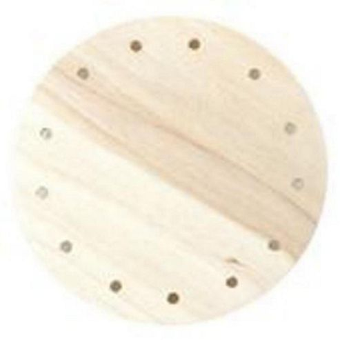Wooden Base 3R 75 mm diameter Round
