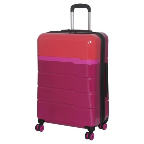 buy it luggage twotone 8 wheel hard shell persion red and. Black Bedroom Furniture Sets. Home Design Ideas