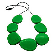 Jellystone Teething Necklace in Grassy Green